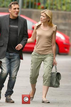 Chris Gascoyne and Jane Danson