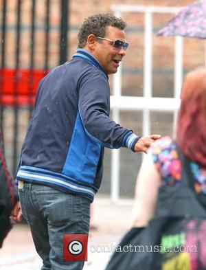 Craig Charles,  arriving at Granada Studios to film an episode of Coronation Street Manchester, England - 05.07.11