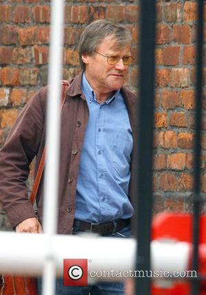 David Neilson,  arriving at Granada Studios to film an episode of Coronation Street Manchester, England - 05.07.11