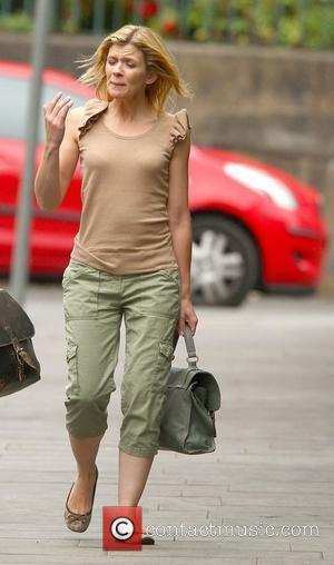 Jane Danson,  arriving at Granada Studios to film an episode of Coronation Street Manchester, England - 05.07.11