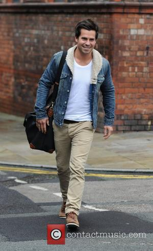 Oliver Mellor The 'Coronation Street' cast outside Granada Studios Manchester, England - 13.10.11
