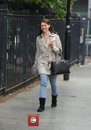 Kate Ford leaving Granada Studios after filming 'Coronation Street' Manchester, England - 15.06.11