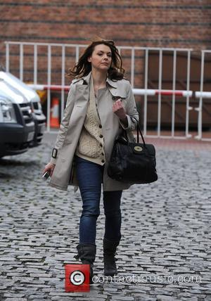 Kate Ford 'Coronation Street' stars at the Granada Studios Manchester, England - 16.02.11