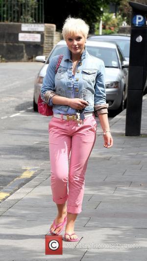 Helen Flanagan 'Coronation Street' actors outside Granada Studios Manchester, England - 17.06.11