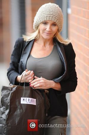 Michelle Collins 'Coronation Street' cast arriving at the Granada studios Manchester, England - 17.10.11