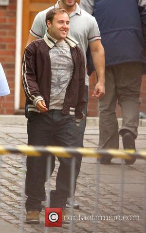 Alan Halsall,  at Granada Studios for the ITV soap 'Coronation Street'. Manchester, England - 19.07.11