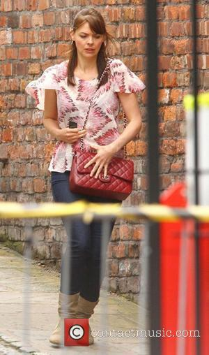 Kate Ford,  at Granada Studios for the ITV soap 'Coronation Street'. Manchester, England - 19.07.11