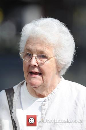 Stephanie Cole,  arrive at Granada Studios to film 'Coronation Street' Manchester, England - 20.04.11