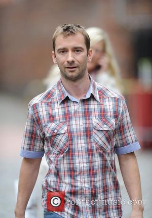 Charlie Condou 'Coronation Street' actors outside Granada Studios Manchester, England - 20.07.11
