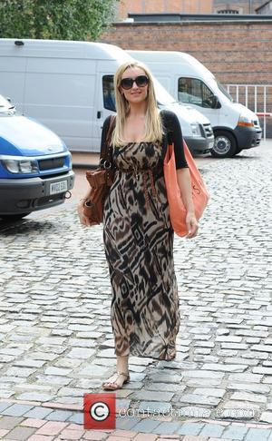 Coronation Street star Catherine Tyldesley leaves the Coronation Street set Manchester, England - 28.07.11