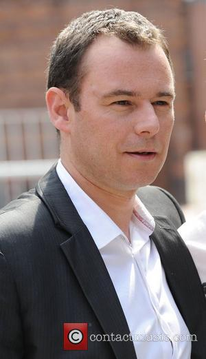 Coronation Street star Andrew Lancel leaves the Coronation Street set Manchester, England - 28.07.11