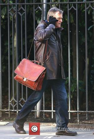 David Neilson 'Coronation Street' cast arriving at the Granada Studios  Manchester, England - 08.02.11