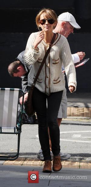 Samia Smith leaving the Granada Studios in Manchester  Manchester, England - 14.09.11
