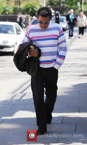 Craig Charles arriving at Granada Studios to film 'Coronation Street' Manchester, England - 09.04.11