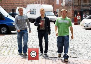 Chris Fountain, Alan Halsall and Mikey North