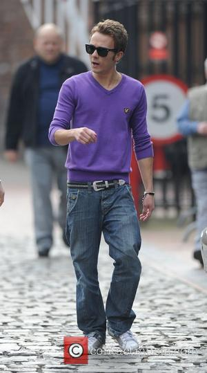 Jack P. Shepherd arrives at Granada Studios to film 'Coronation Street'  Manchester, England - 24.03.11