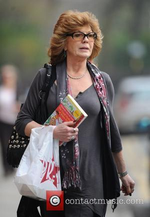 Rula Lenska arrives at Granada Studios to film 'Coronation Street'  Manchester, England - 24.03.11