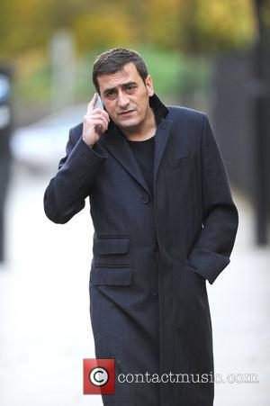 Chris Gascoyne,  arrive at the Coronation Street film set at Granada Studios Manchester, England - 01.11.11
