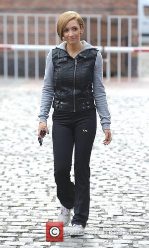 Lucy-Jo Hudson,  at Granada Studios to film 'Coronation Street' Manchester, England - 22.03.11