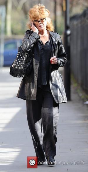 Rula Lenska,  at Granada Studios to film 'Coronation Street' Manchester, England - 22.03.11