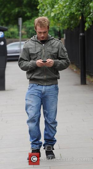 Chris Fountain  arrives at the Coronation Street Set in Manchester Manchester, England - 12.05.11