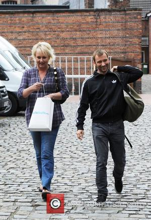 Sue Cleaver and Charlie Condou leave the Coronation Street Set in Manchester Manchester, England - 12.05.11