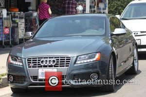 Cory Monteith  has breakfast in Hollywood Los Angeles, California - 06.05.11