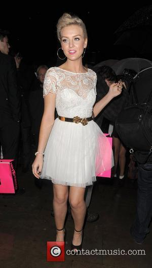 X Factor contestant Perrie Edwards leaving the Cosmopolitan Awards 2011. London, England - 03.11.11