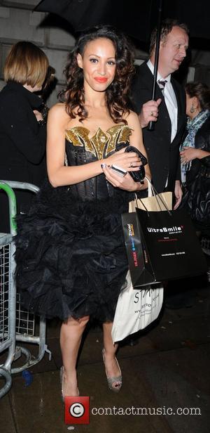 Amelle Berrabah leaving the Cosmopolitan Awards 2011 London, England - 03.11.11
