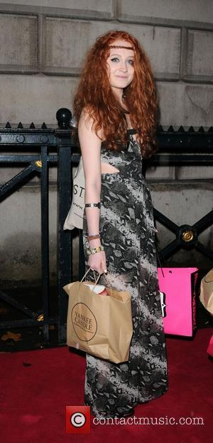 Janet Devlin leaving the Cosmopolitan Awards 2011 London, England - 03.11.11