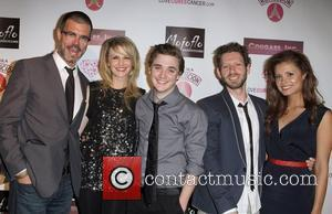 Kathryn Morris, Kyle Gallner, K. Asher Levin and Catalina Rodriguez Cougar Inc world premiere held at The Egyptian Theatre -...