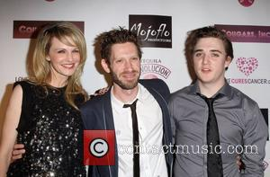 Kathryn Morris, K. Asher Levin and Kyle Gallner Cougar Inc world premiere held at The Egyptian Theatre - Arrivals Los...