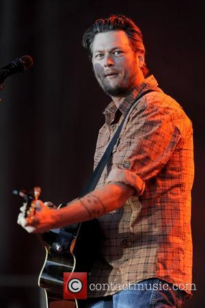 Blake Shelton  performs at CMT Country Music Festival at Burl's Creek Park. Oro, Ontario, Canada - 26.08.11  Dominic...