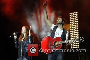 Hillary Scott, Dave Haywood and Lady Antebellum