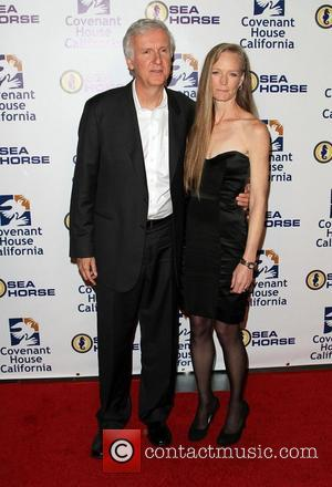 James Cameron and Suzy Amis Cameron Covenant House 2011 Gala and Awards Dinner held at Skirball Cultural Center Los Angeles,...
