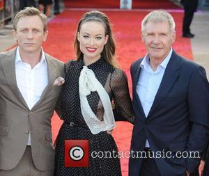 Daniel Craig, Harrison Ford and Olivia Wilde