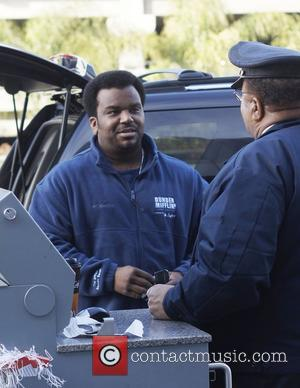 Pineapple Express actor Craig Robinson arriving at LAX Los Angeles, USA - 05.02.11
