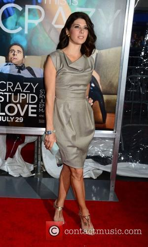 Marisa Tomei World premiere of 'Crazy, Stupid, Love' held at the Ziegfeld Theater - Arrivals New York City, USA -...
