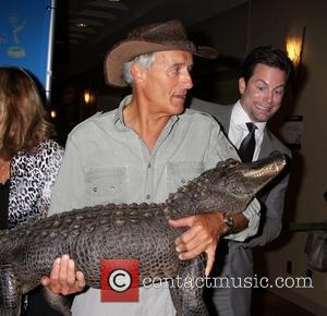 Jack Hanna, Baby Alligator and Michael Muhney The 38th Annual Daytime Creative Arts & Entertainment Emmy Awards at Westin Bonaventure...