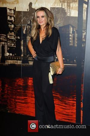 Kierston Wareing Crime Thriller Awards at the Grosvenor Hotel London, England - 07.10.11