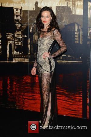 Lara Pulver  Crime Thriller Awards at the Grosvenor Hotel London, England - 07.10.11