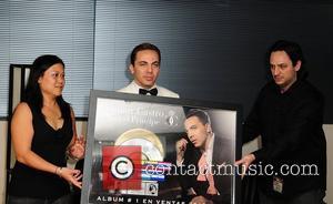 V.P. of Finance for Universal Music Latin Entertainment Elsa Yep (L), V.P. of Marketing for Universal Music Latin America Angel...