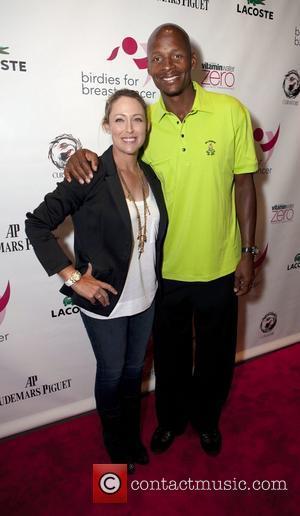 Cristie Kerr (LPGA) and Ray Allen (NBA Boston Celtics) LPGA Champion, Cristie Kerr hosts the kick-off celebration at Dream Downtown...