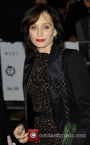 Kristin Scott Thomas  The London Critics' Circle Film Awards held at the BFI Southbank - Arrivals. London, England -...