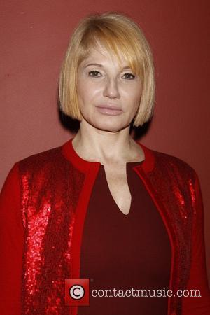 Ellen Barkin The 61st Annual Outer Critics Circle Theatre Awards held at Sardi's Restaurant - Inside New York City, USA...