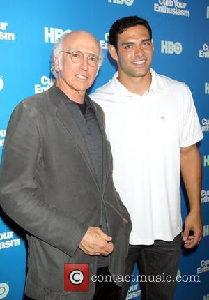 Larrty David, Mark Sanchez Screening of the new season of the 'Curb Your Enthusiasm' - Arrivals New York City, USA...