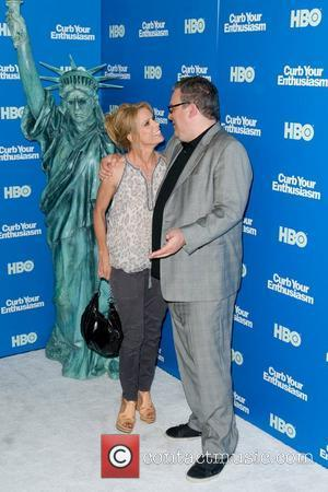 Cheryl Hines and Jeff Garlin