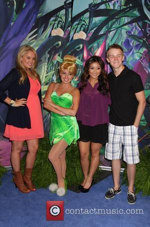 Tiffany Thornton, Brenda Song and Jason Dolley
