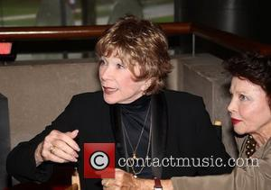 Shirley MacLaine Shirley MacLaine at the Paris cinematheque of Bercy where she receive the Legion of Honnour by Frederic Mitterand...