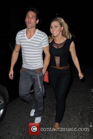 Laura Hamilton and Colin Ratushniak Dancing On Ice Wrap Party at Cruz 101Nightclub - Arrivals Manchester, England - 01.05.11